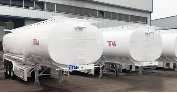 10 sets 3 axle truck fuel tanker for sale in Guinea