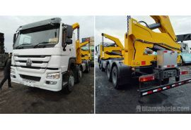 TITAN 20Ft Self loader truck will be send to Guyana