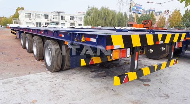 TITAN Wind Turbine Blade Trailer for Windmill Turbine Blade Transport