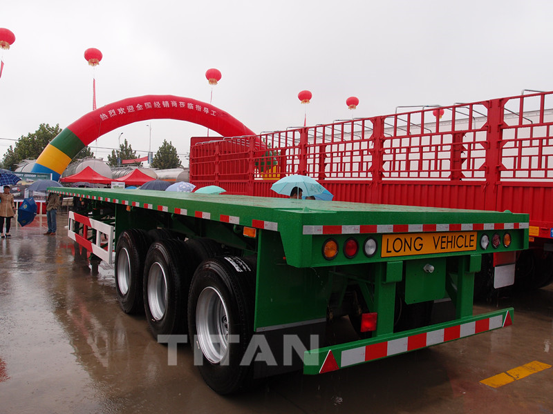 40 feet flatbed truck trailer