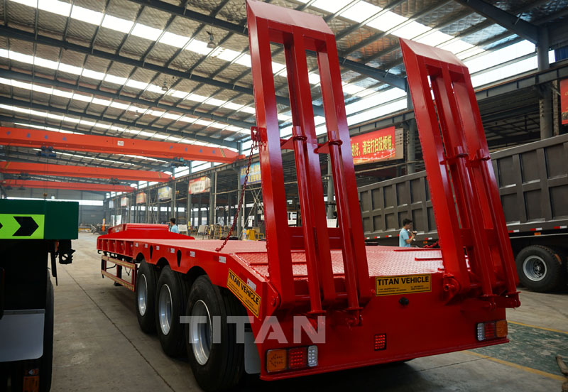 80t lowbed trailers