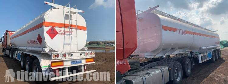 Fuel Tanker with 40000L