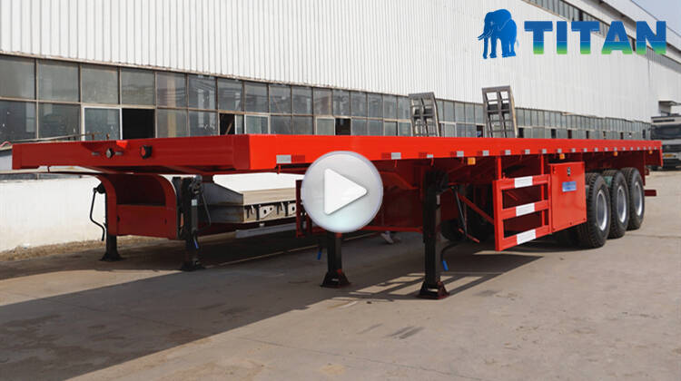 flatbed trailers video