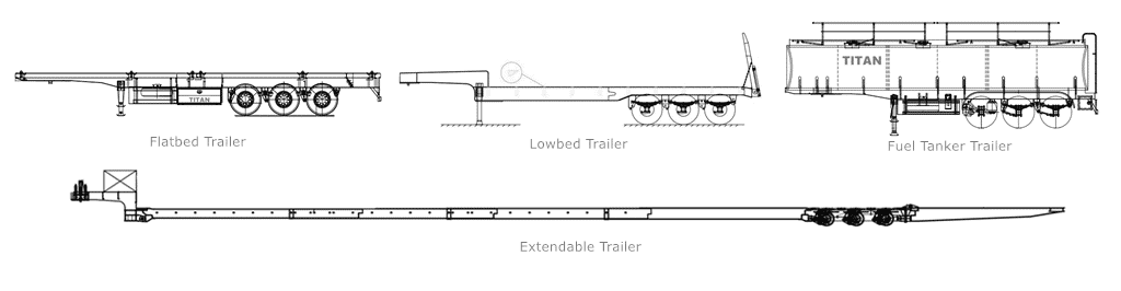 TITAN trailers drawing