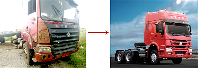 How to dispose of scrapped trucks