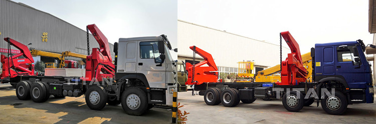 20ft self loader truck