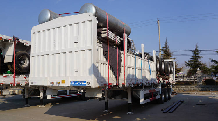 Fence Semi Trailer for Sale | Bulk cargo transport stake trailer price, manufacturers, height