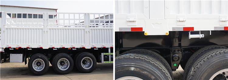 Fence Semi Trailer for Sale | Bulk cargo transport stake livestock trailer price, manufacturers, height