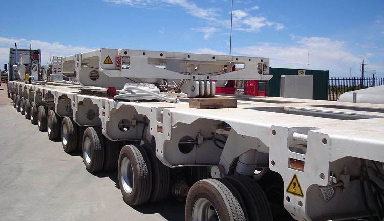 Hydraulic Modular Trailer Multi-axle-trailer Self Propelled Modular Transporter