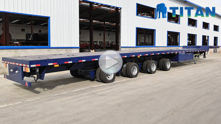 wind turbine blade transportation extendable trailer