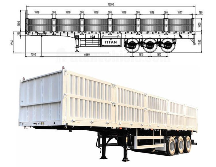 Sideboard Trailer for Sale | Truck Trailer with Side Board - TITAN Vehicle