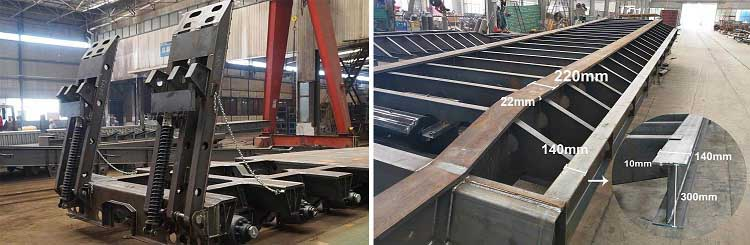 Low Bed Trailer factory
