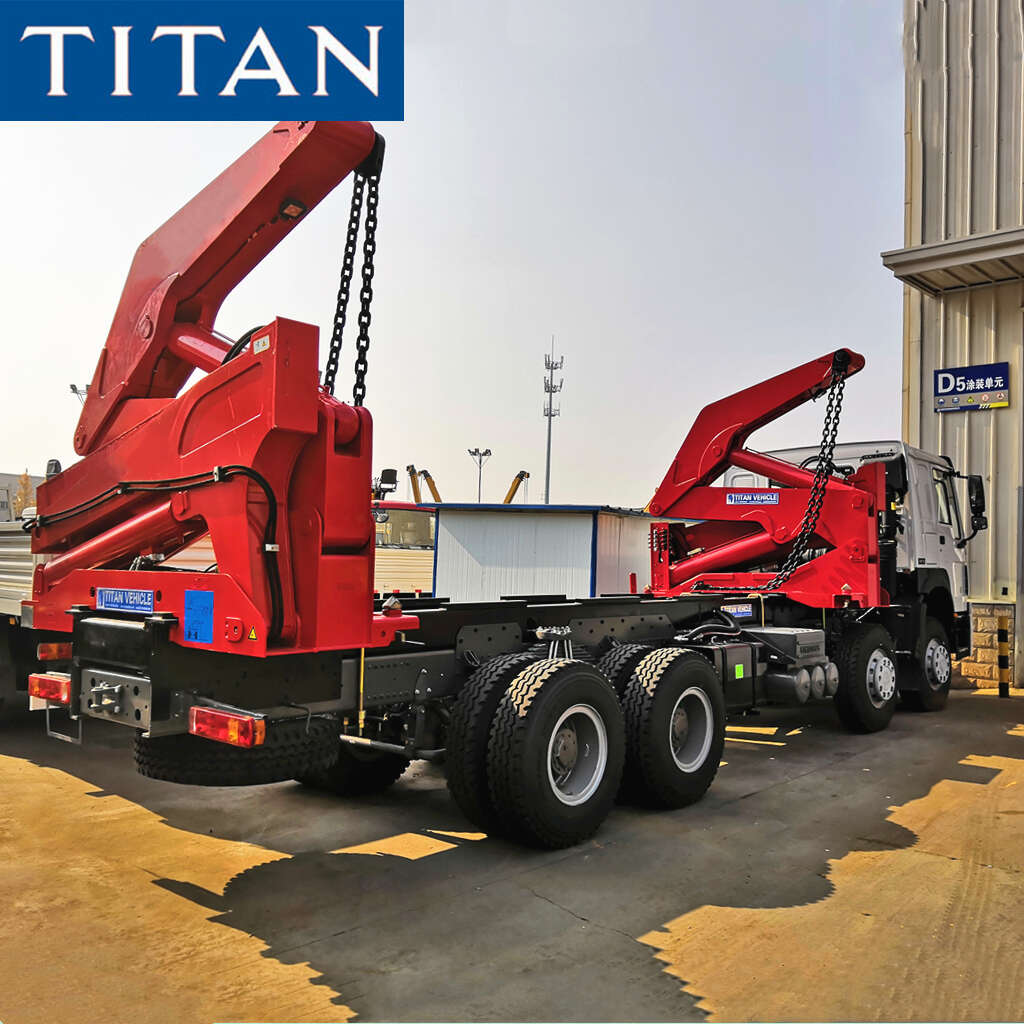 20ft Container Self Loader Truck