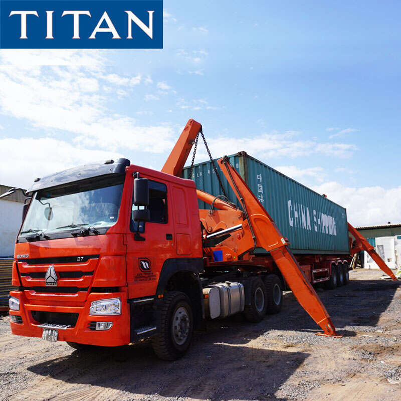 37 Ton Side Lifter Trailer