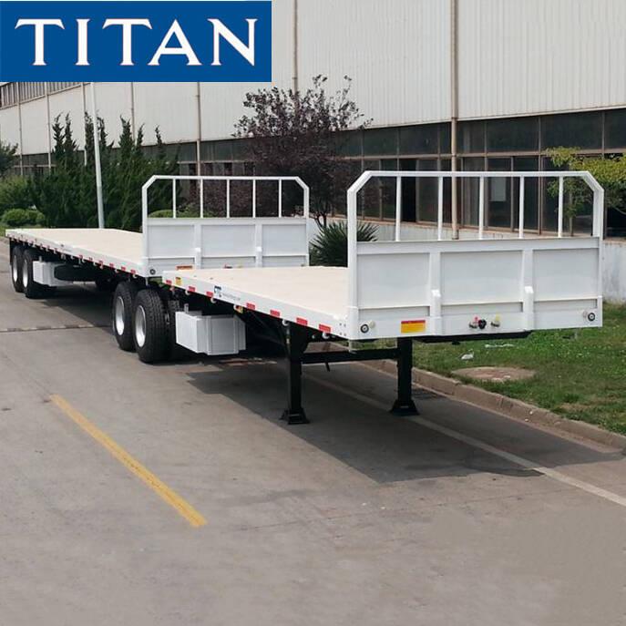 Tri Axle 20ft Skeletal trailer for Sale   TITAN Vehicle