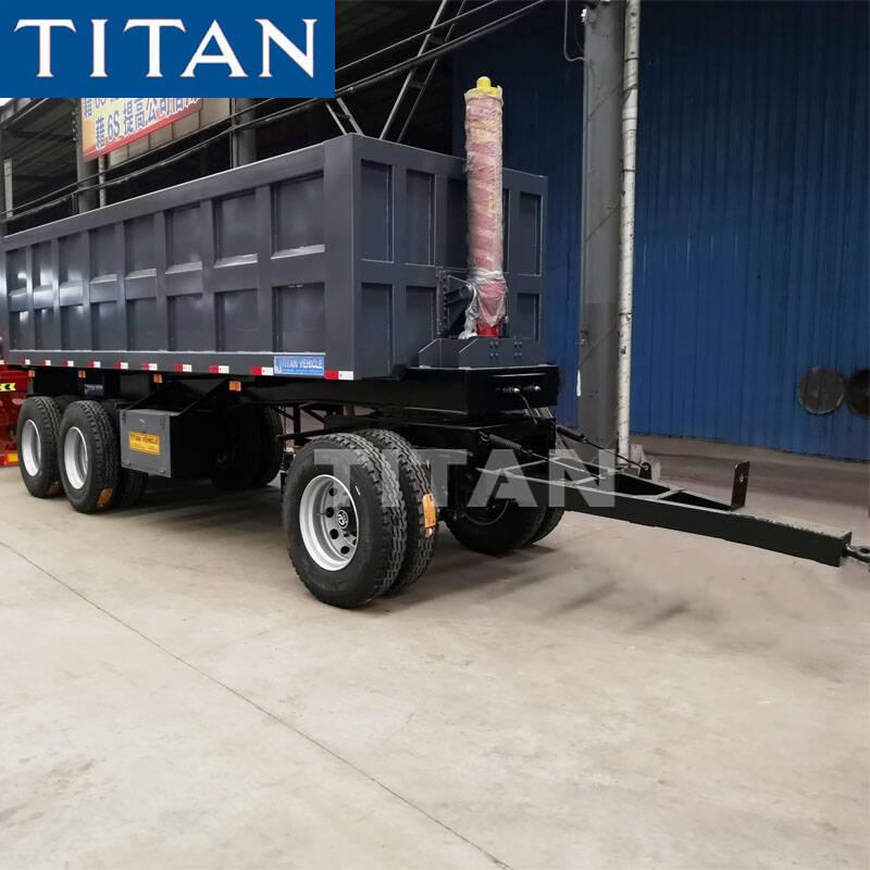 skeleton drawbar trailer for sale TITAN full skeleton