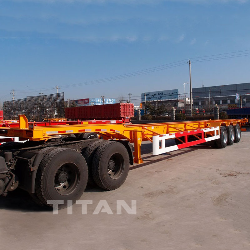 Tower Section Semi Trailer