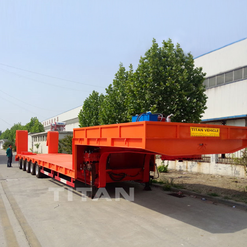 100 Ton Lowbed Trailer 5 Axles