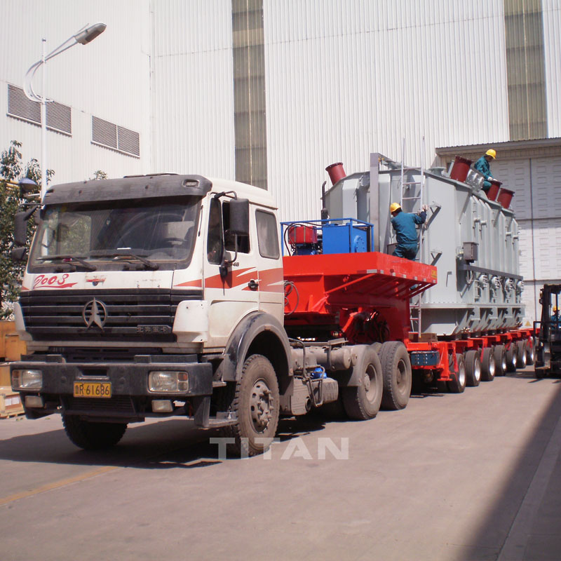 300 Ton Payload Modular Low Bed Trailer