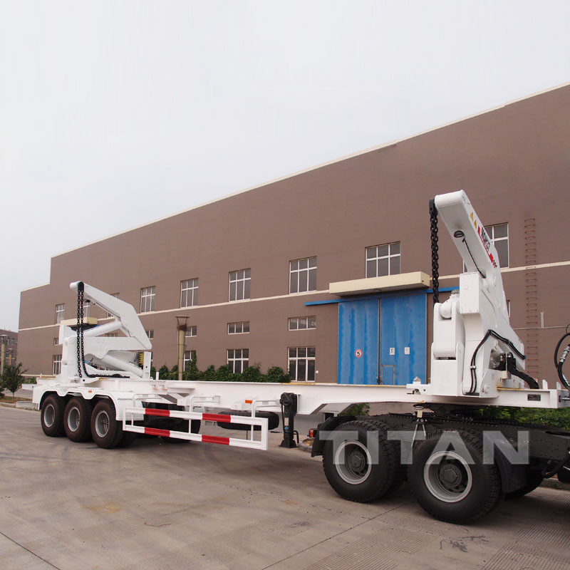 40ft Container Side Loader, Side Lifter Trailer for loading 20ft 40ft container