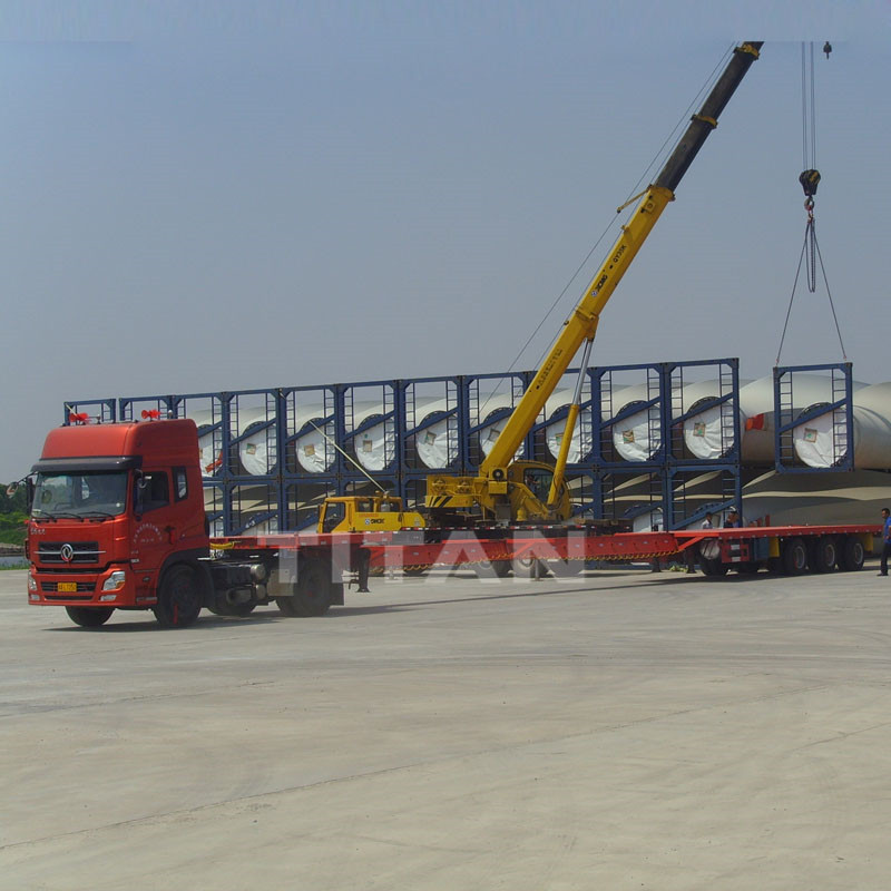 Extendable Semi Trailer