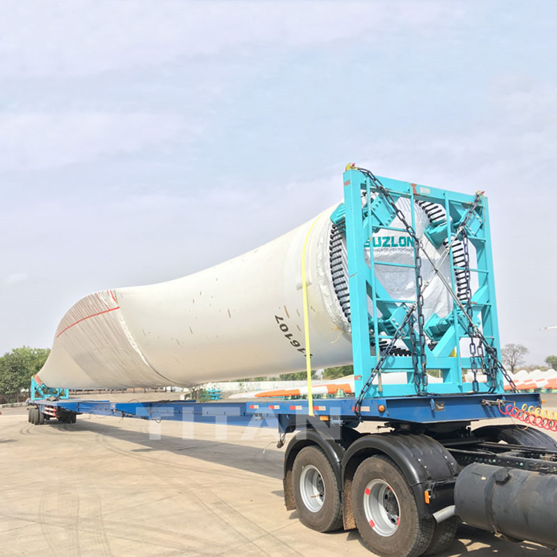 52m Extendible Trailer