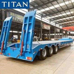 3 Axle 80 Ton Low Bed Truck