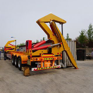 20ft 40ft side loader trailer