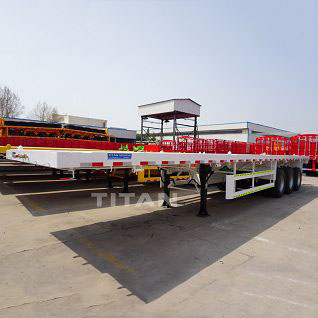 flatbed semi-trailer 3 axle 40t