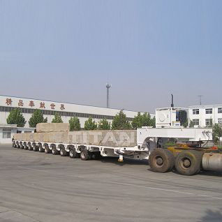 250 ton modular low bed semi trailer for sale | TITAN VEHICLE