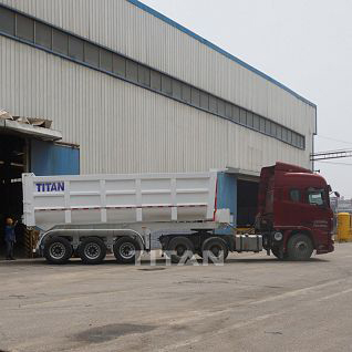 3 Axles tipper trailers for sale