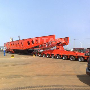 TITAN Girder Bridge Heavy Haul Trailer