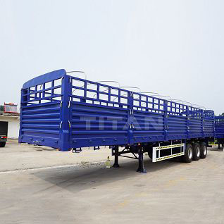 Tri-axle Side Wall Semi Trailer
