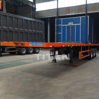 tri axle flatbed trailer for sale