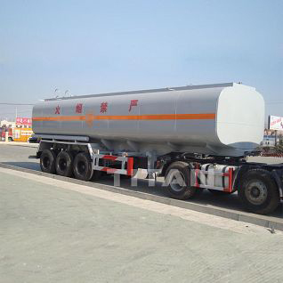 chemical transport tanker trailer